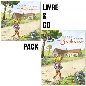 Pack Une maison bizarre pour Balthazar